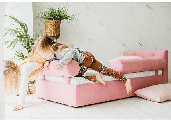 Funnest детская кровать Nest 70x155 cm + 2 рулонные подушки
