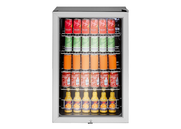 Klaasuksega külmkapp Bomann