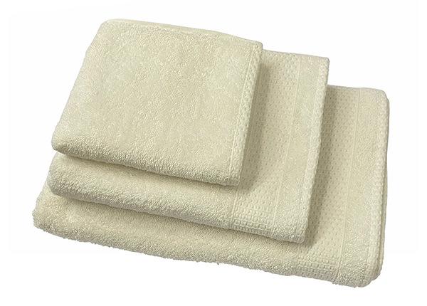 Комплект махровых полотенец Madison, белый