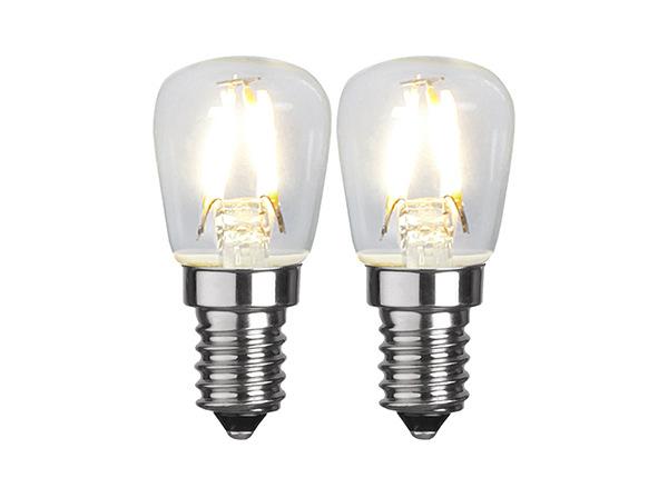 LED sähkölamput E14 1,3 W 2 kpl AA-231501