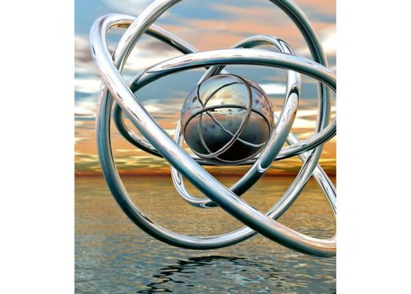 Fliis fototapeet Abstract balls
