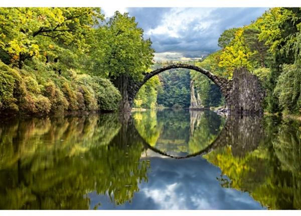 Fleece-kuvatapetti Arch bridge