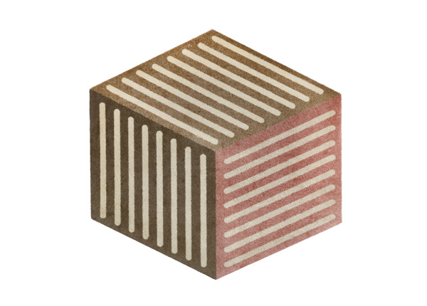 Matto Puzzle Cube powder 100x100 cm A5-232024