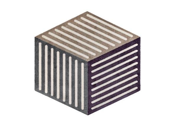 Matto Puzzle Cube velvet 100x100 cm A5-232025