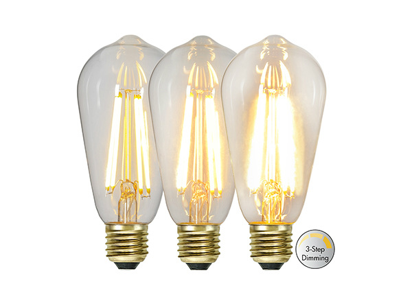 Koristeellinen LED sähkölamppu E27 6,5 W AA-232143