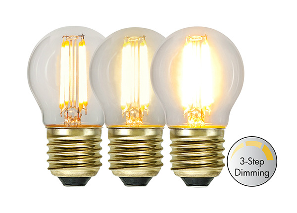 Koristeellinen LED sähkölamppu E27 4 W AA-232174