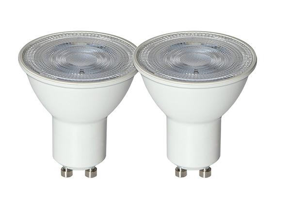 LED sähkölamput GU10 2 W 2 kpl AA-232193