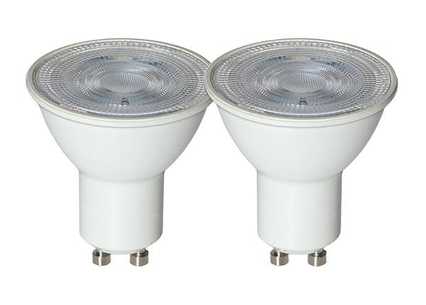 LED sähkölamput GU10 4 W 2 kpl AA-232256