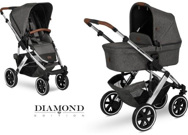 Yhdistelmävaunut ABC Design Salsa 4 Asphalt Diamond Special Edition 2020