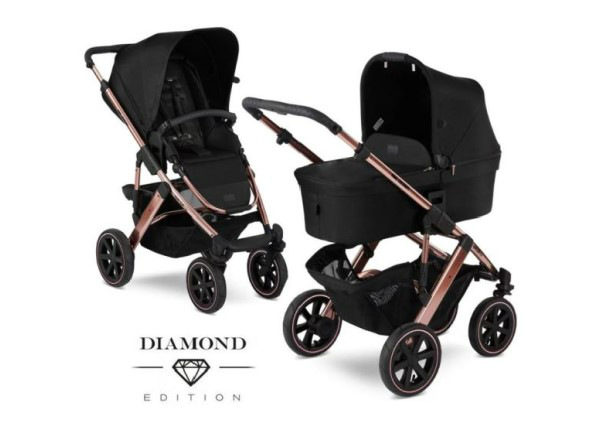 Yhdistelmävaunut ABC Design Salsa 4 Rose Gold Diamond Special Edition 2020