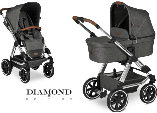 Yhdistelmävaunut ABC Design Viper 4 Asphalt Diamond Special Edition 2020 UP-232313