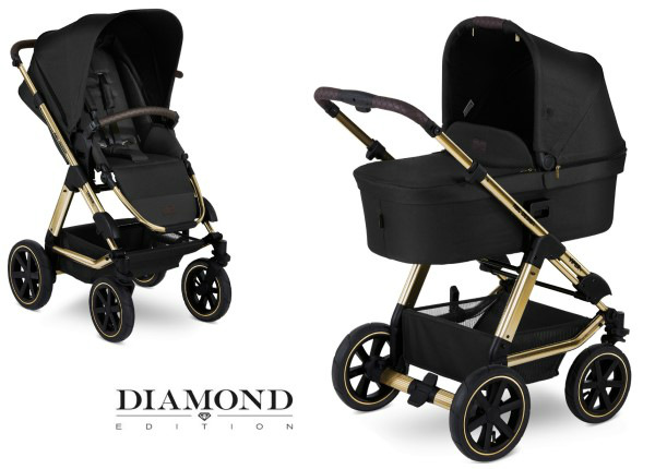 Yhdistelmävaunut ABC Design Viper 4 Champagne Diamond Special Edition 2020