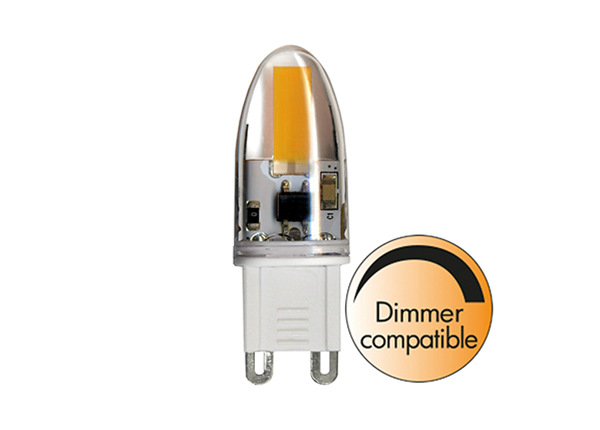 LED sähkölamppu G9 1,6 W AA-232366