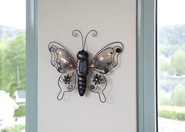 Seinävalaisin aurinkopaneelilla Butterfly AA-232626