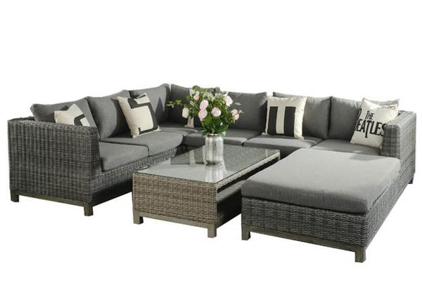 Sohva + sohvapöytä Castella