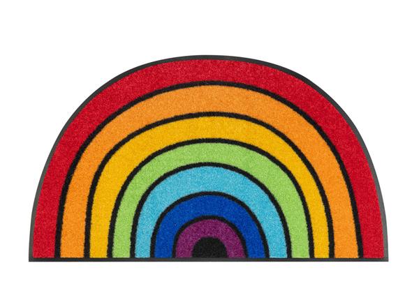Ovimatto Round Rainbow 50x85 cm A5-232870