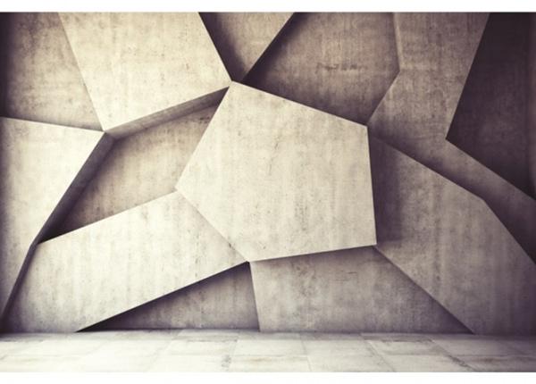 Fleece-kuvatapetti Concrete background