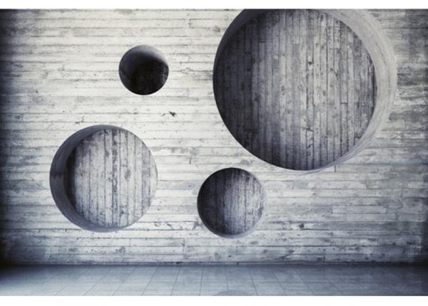 Fleece-kuvatapetti Geometric background