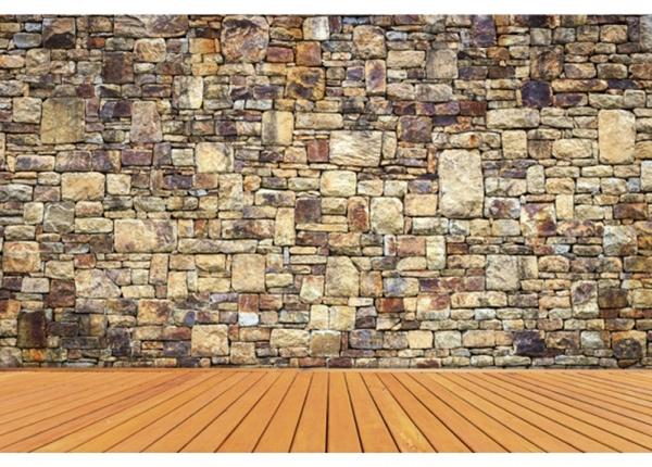 Fleece-kuvatapetti Rock wall