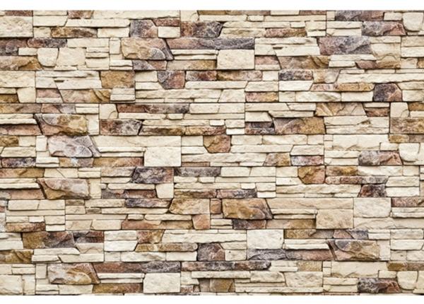 Fleece-kuvatapetti Stone wall