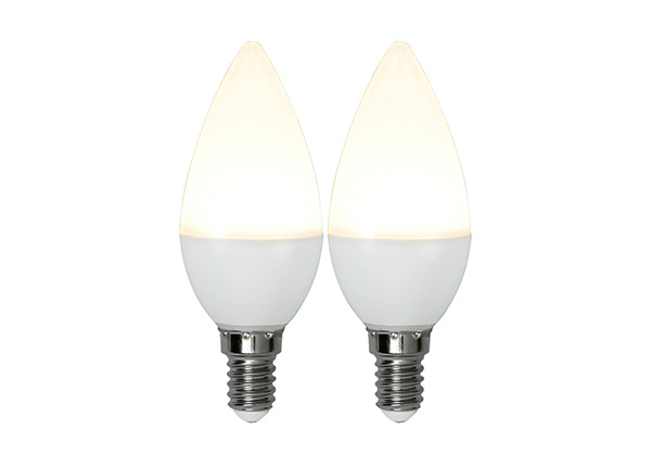 LED sähkölamppu E14 3 W (2 kpl) AA-233700