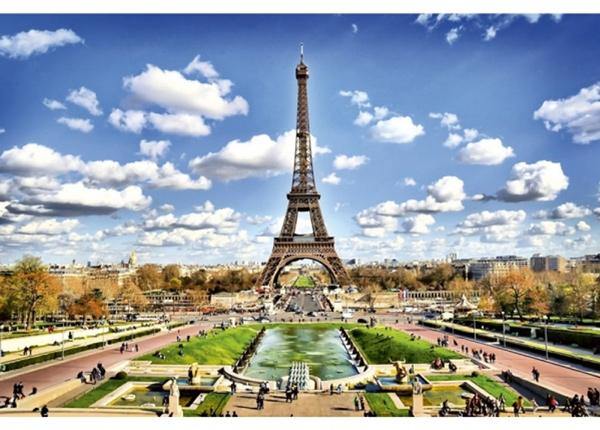 Fleece-kuvatapetti Paris