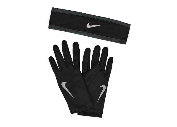 Treenihanskat ja pääpanta Nike