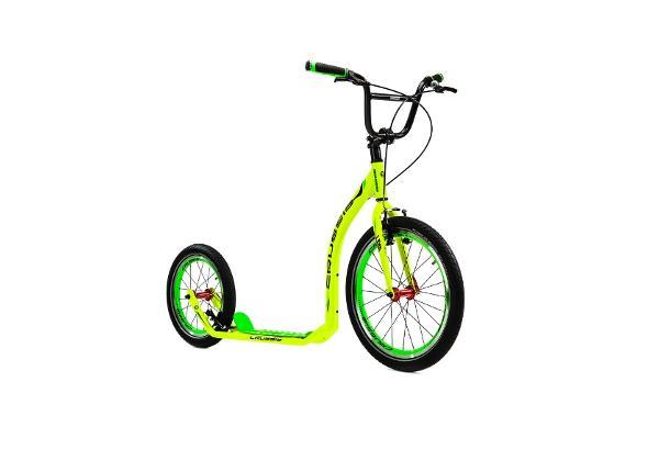 Potkupyörä Crussis Active 4.1 keltainen-vihreä