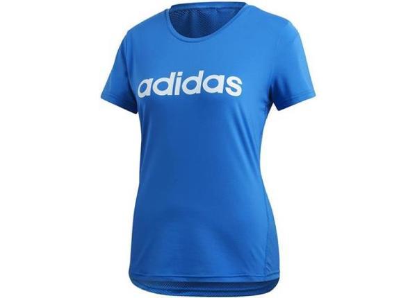 Naiste treeningsärk adidas D2M Logo W FL9230