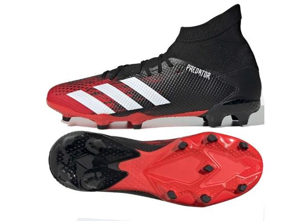 Miesten jalkapallokengät adidas Predator 20.3 FG M EE9555