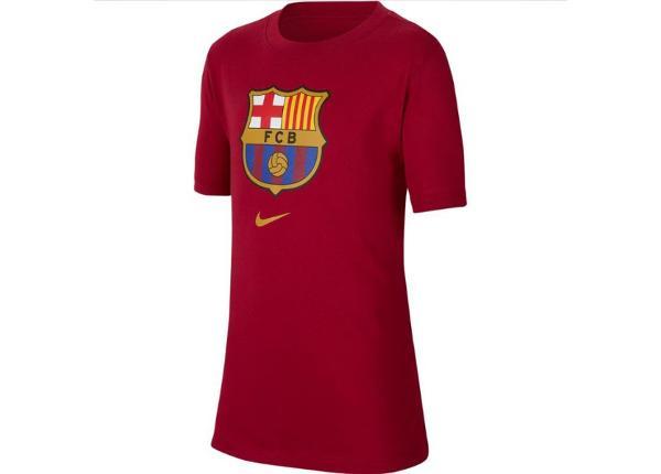 Lasten jalkapallopaita Nike FC Barcelona B NK Tee Evergreen Crest Junior CD3199-620
