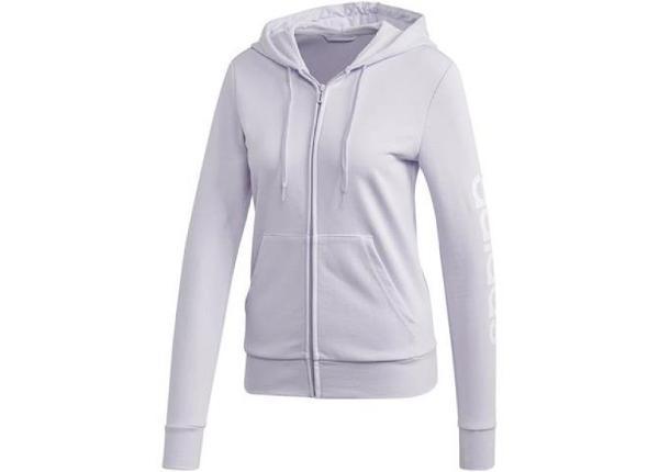 Naiste dressipluus adidas Essentials Linear Hoodie W FM6482