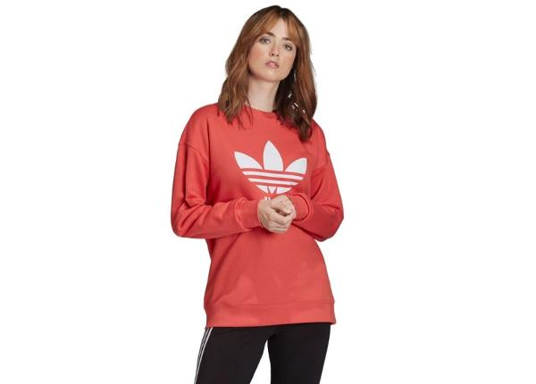 Naisten treenipaita adidas Originals Trefoil Crew Sweatshirt W FM3291