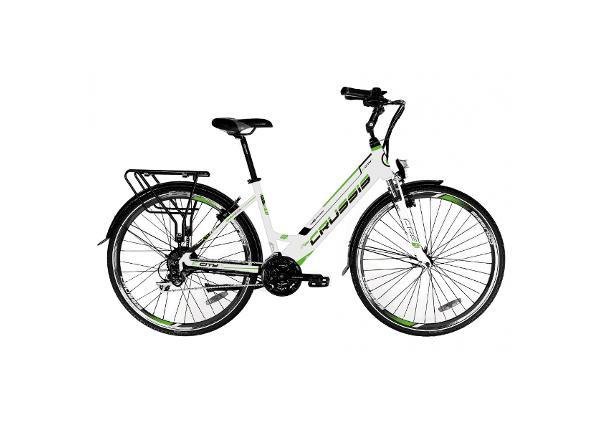 Naisten sähkökaupunkipyörä Crussis e-City 1.11