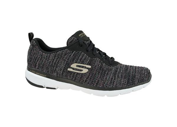 Naisten vapaa-ajan kengät Skechers Flex Appeal 3.0 Endless Glamour W 13071-BKMT