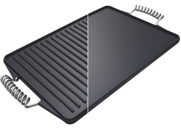 Valurautainen kaksipuolinen grillilevy Campingaz