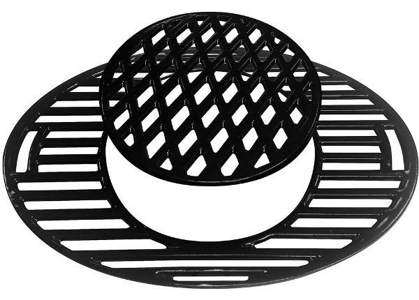 Valurautaritilä Bonesco-sarjan grilleille