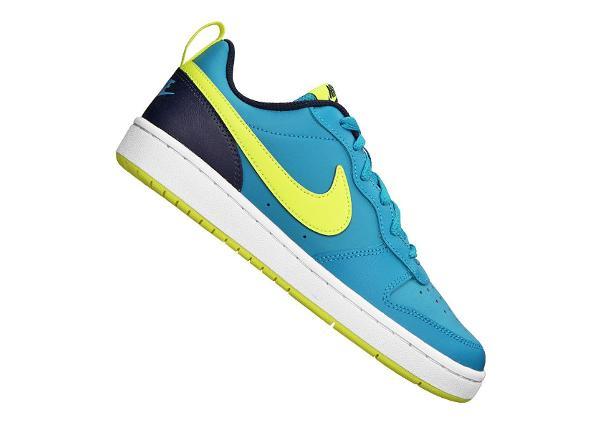 Laste vabaajajalatsid Nike Court Borough Low 2 Jr BQ5448-400