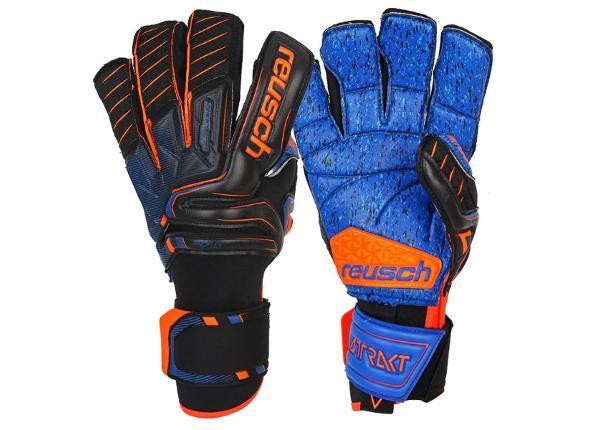 Мужские вратарские перчатки Reusch Attrakt G3 Fusion Goaliator 50 70 993 7083