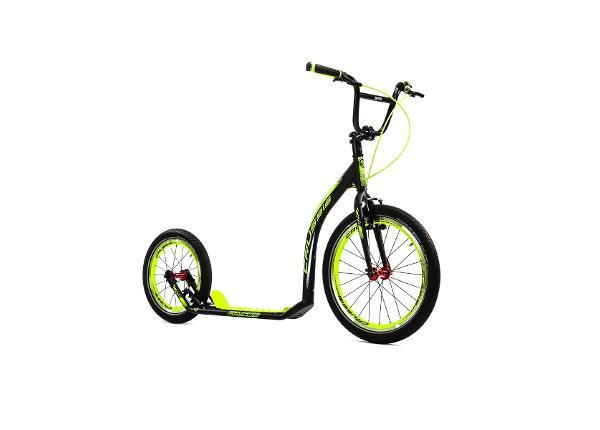 Potkupyörä Crussis Active 4.4 musta-keltainen