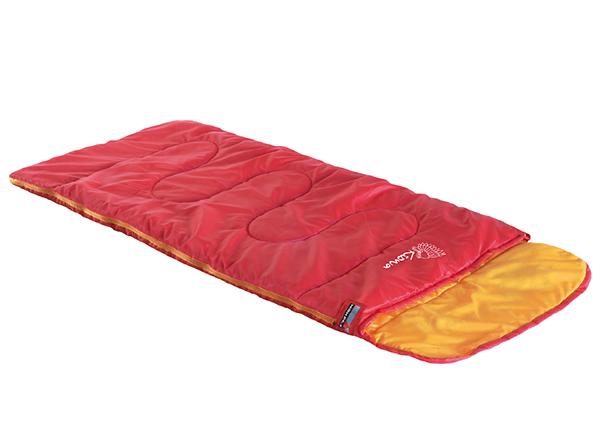 Lasten makuupussi High Peak Kiowa, punainen/ oranssi