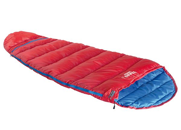 Lasten makuupussi High Peak Tembo Vario, punainen/ sininen