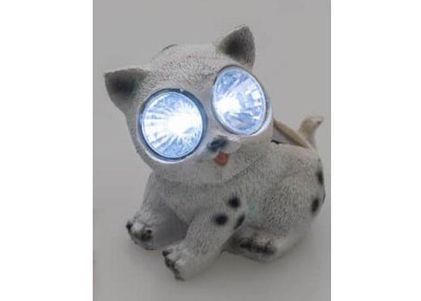 Solar valaisin Tarmo kissa valkoinen
