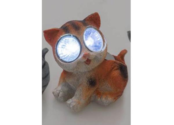 Solar valaisin Tarmo kissa oranssi