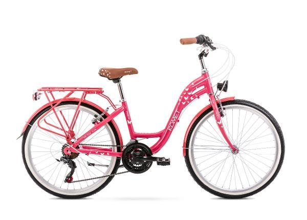 """Lasten kaupunkipyörä 13 S PANDA 24"""" 1.0 roosa"""