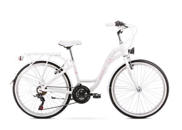 """Lasten kaupunkipyörä 13 S PANDA 24"""" 2.0 valkoinen"""