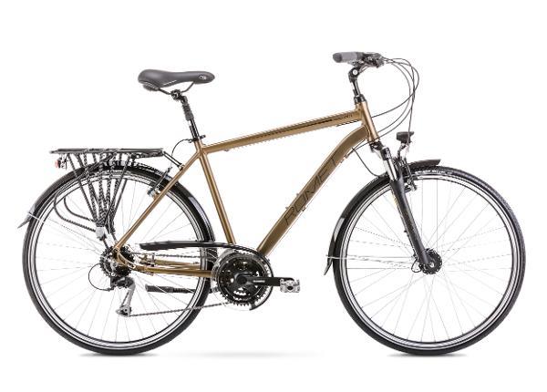Miesten kaupunkipyörä 23 XL WAGANT 5 tummankeltainen