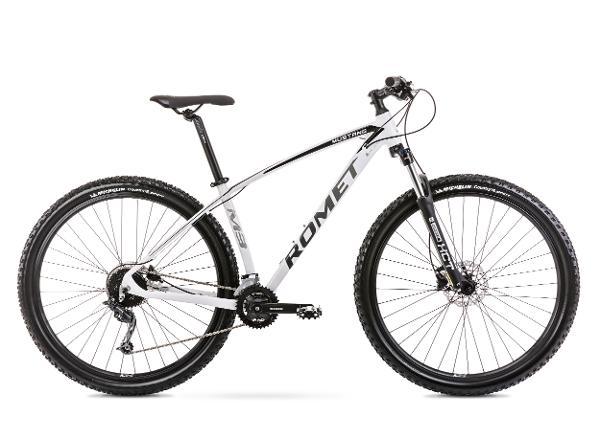 Miesten maastopyörä 19 L MUSTANG M3 valkoinen
