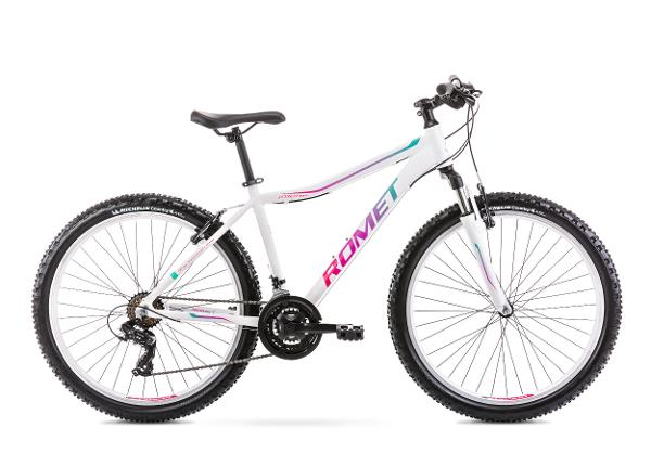 Naisten maastopyörä 19 L JOLENE 6.3 valkoinen-vihreä
