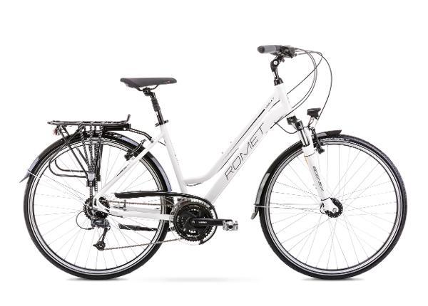 Naisten kaupunkipyörä 9 L GAZELA 7 valkoinen